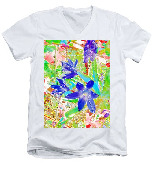Chionodoxa Men's V-Neck T-Shirt