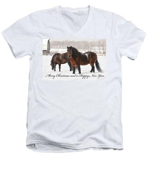Christmas 8 Men's V-Neck T-Shirt
