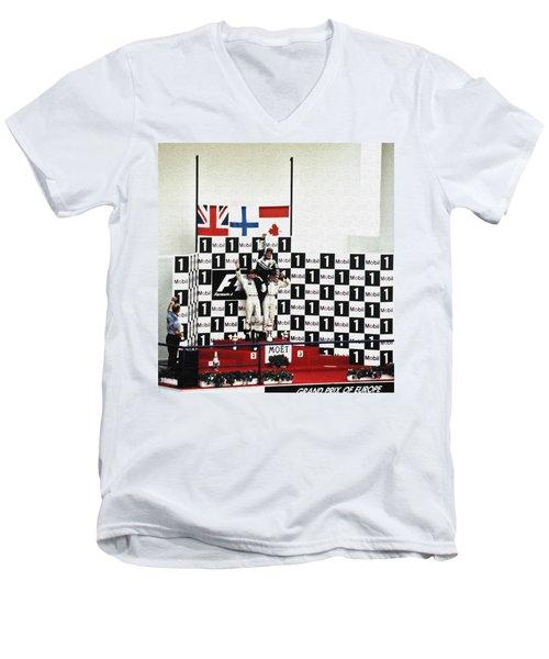 Circuito De Jerez 1997 Men's V-Neck T-Shirt