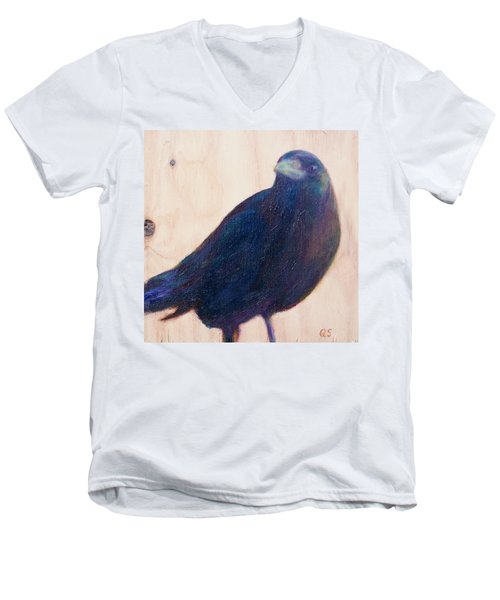 Crow Friend Men's V-Neck T-Shirt