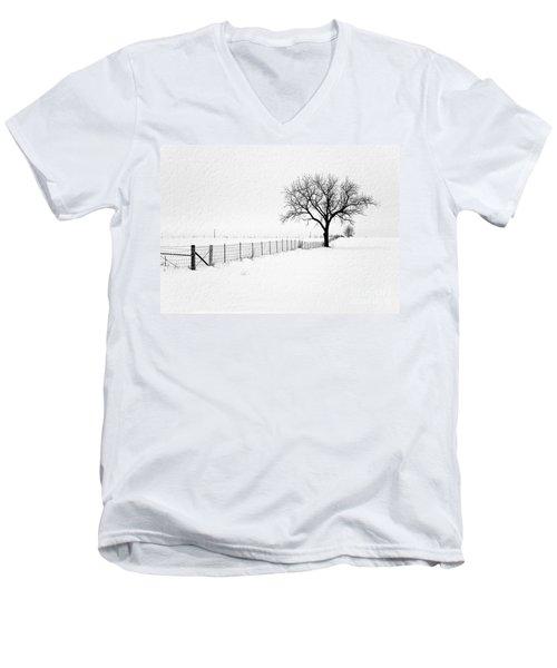 December Men's V-Neck T-Shirt