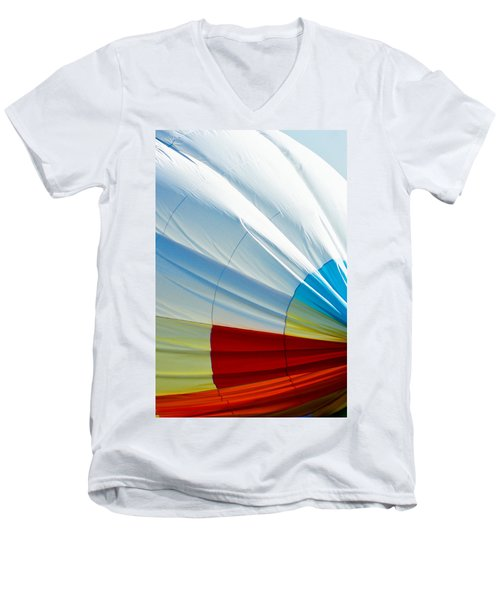 Men's V-Neck T-Shirt featuring the photograph Deflating by Colleen Coccia