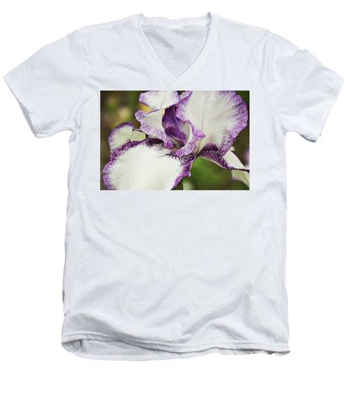 Delicate Ruffles 2 Men's V-Neck T-Shirt