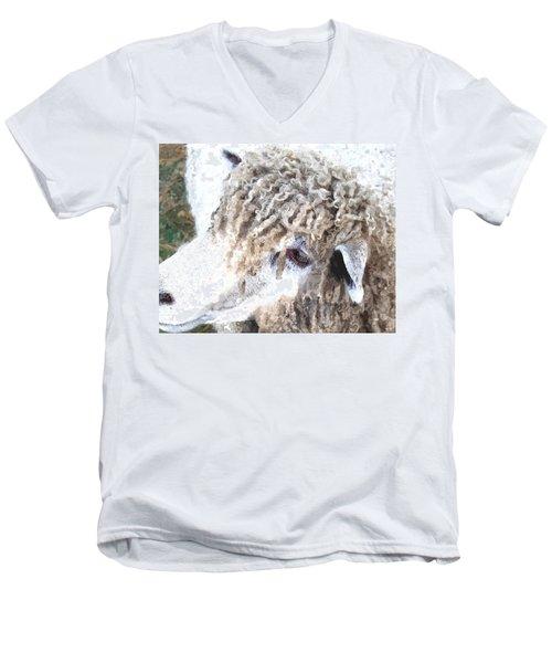 Dolly Dwc Men's V-Neck T-Shirt by Jim Brage
