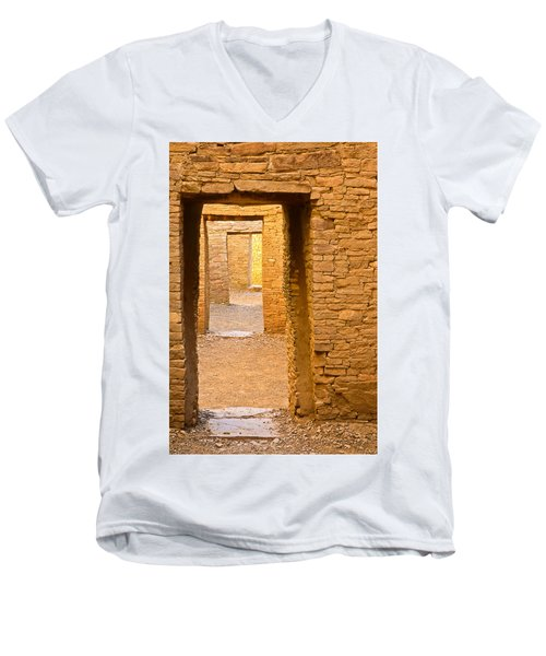 Doorway Chaco Canyon Men's V-Neck T-Shirt