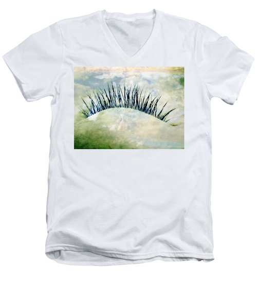 Men's V-Neck T-Shirt featuring the photograph Dreamer by Julia Wilcox