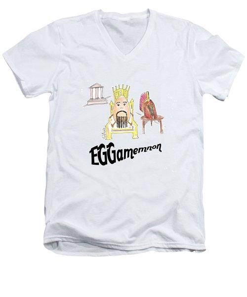 Eggamemnon Men's V-Neck T-Shirt