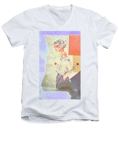 Eighties Men's V-Neck T-Shirt