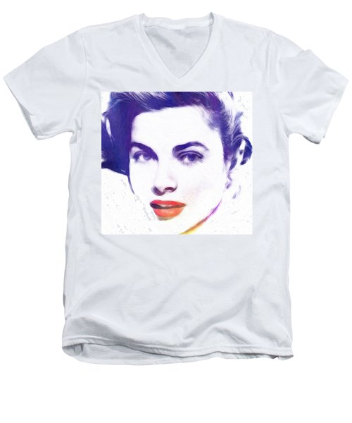 Face Of Beauty Men's V-Neck T-Shirt