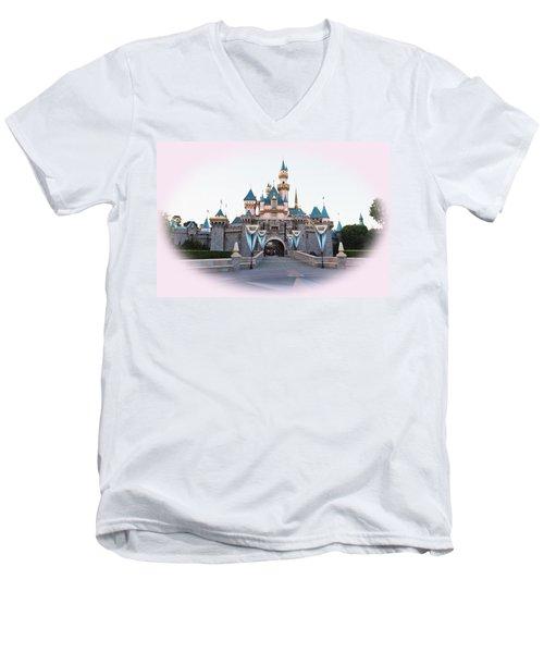 Fairytale Castle Men's V-Neck T-Shirt