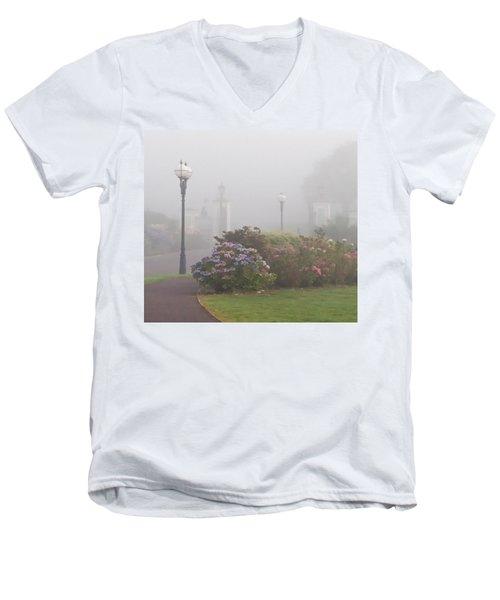 Foggy Morn Men's V-Neck T-Shirt