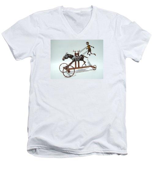Free Unforgiven Men's V-Neck T-Shirt