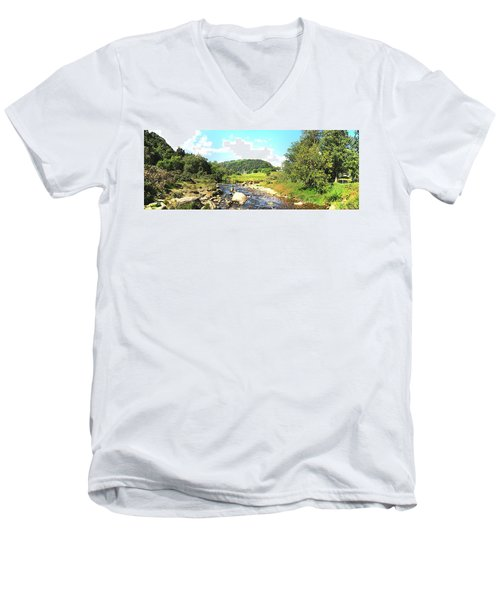 Glendalough Panorama Men's V-Neck T-Shirt
