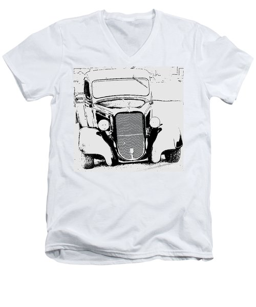 Men's V-Neck T-Shirt featuring the photograph Good Ole Days by Greg Moores