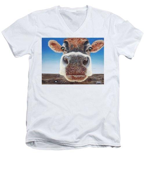 Greener Pastures Men's V-Neck T-Shirt