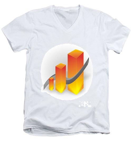 Gv014 Men's V-Neck T-Shirt