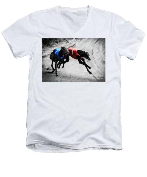 Hard And Rough Men's V-Neck T-Shirt
