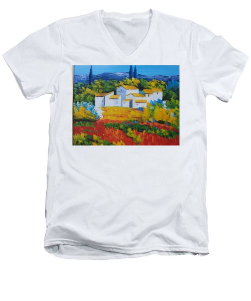 Hilltop Village Men's V-Neck T-Shirt