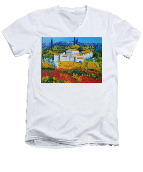 Hilltop Village Men's V-Neck T-Shirt