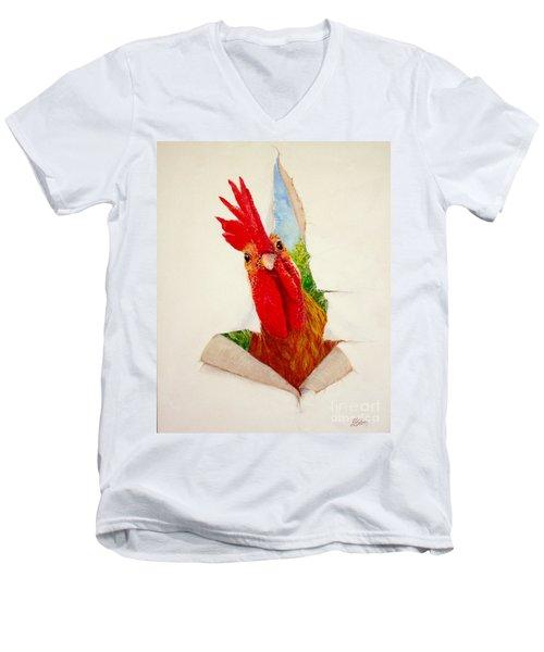 I Had A Breakthrough Men's V-Neck T-Shirt