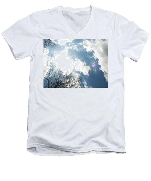 Men's V-Neck T-Shirt featuring the photograph Imagination by Pamela Hyde Wilson