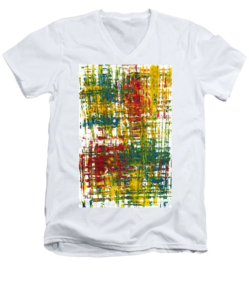 Inside My Garden II 162.110411  Men's V-Neck T-Shirt