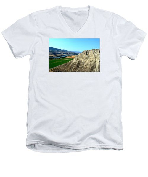 Kamloops British Columbia Men's V-Neck T-Shirt