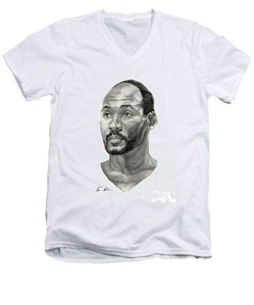 Karl Malone Men's V-Neck T-Shirt
