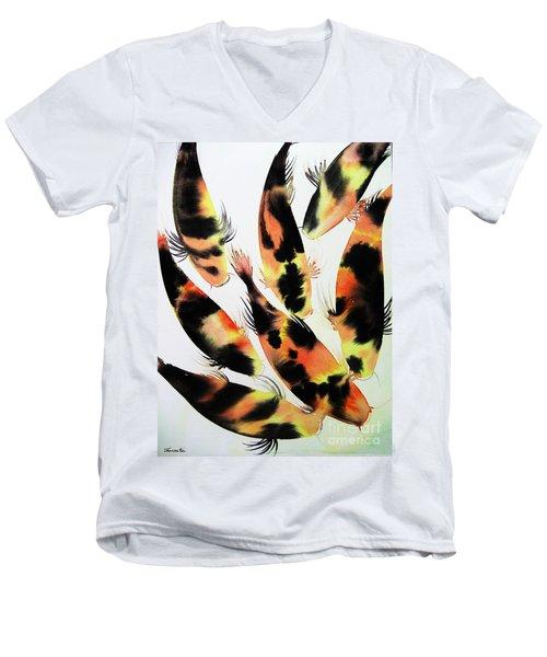 Koi Action Men's V-Neck T-Shirt
