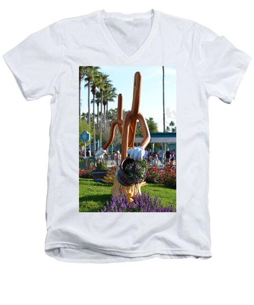 Magic Mop Men's V-Neck T-Shirt