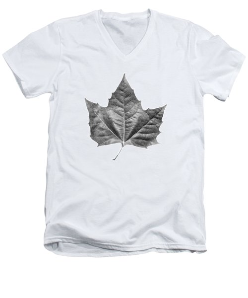 Maple Leaf Men's V-Neck T-Shirt