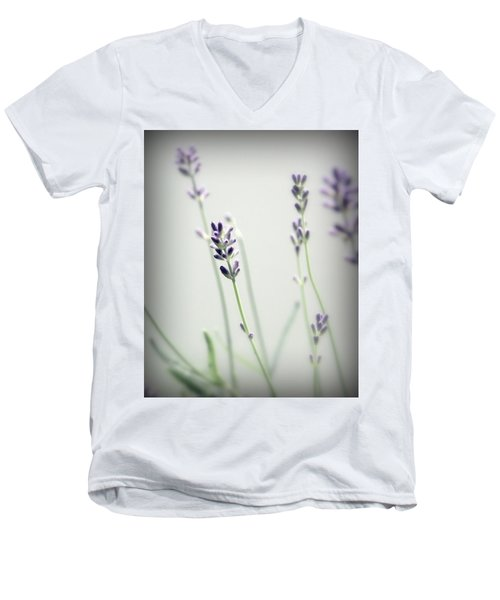 Men's V-Neck T-Shirt featuring the photograph Memories Of Provence by Brooke T Ryan