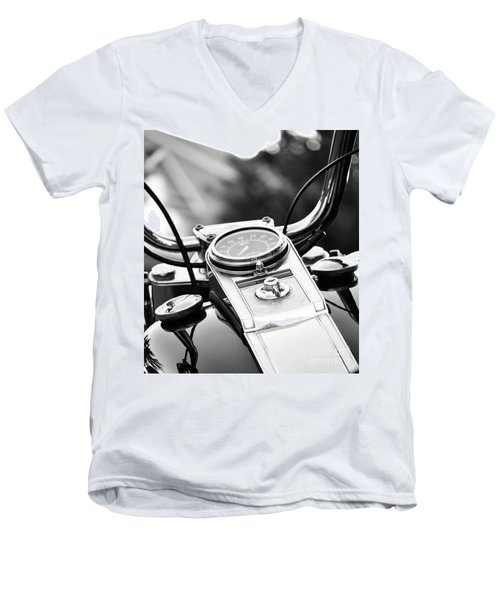 Miles To Go Before I Sleep Men's V-Neck T-Shirt