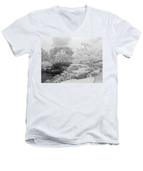 Morikami Japanese Gardens Men's V-Neck T-Shirt