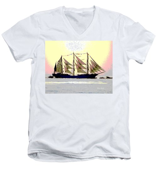 Mystical Voyage Men's V-Neck T-Shirt