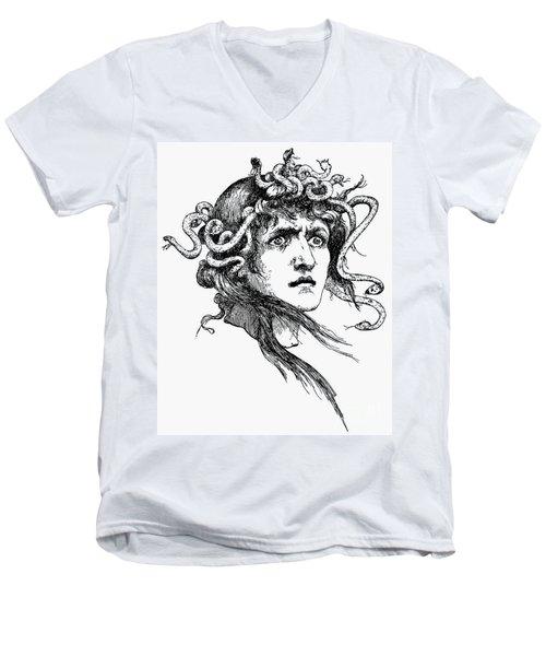 Mythology: Medusa Men's V-Neck T-Shirt