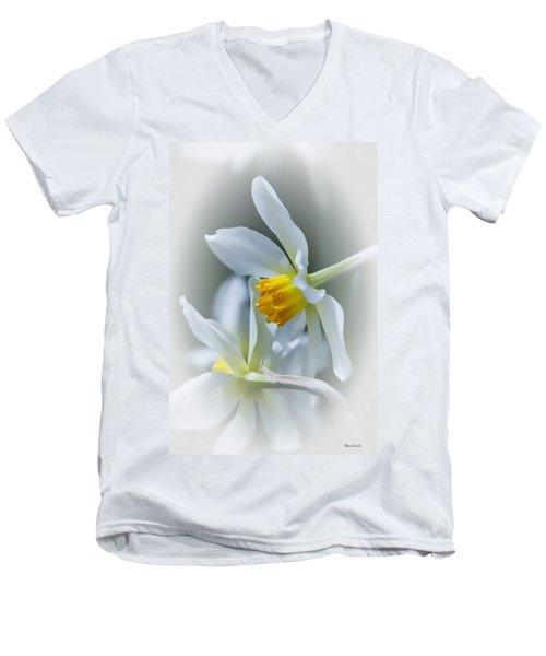 Narcissus Men's V-Neck T-Shirt