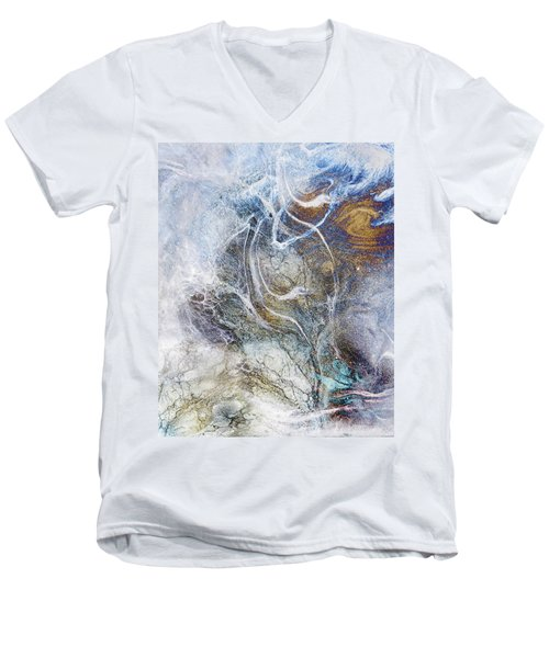 Night Blizzard Men's V-Neck T-Shirt