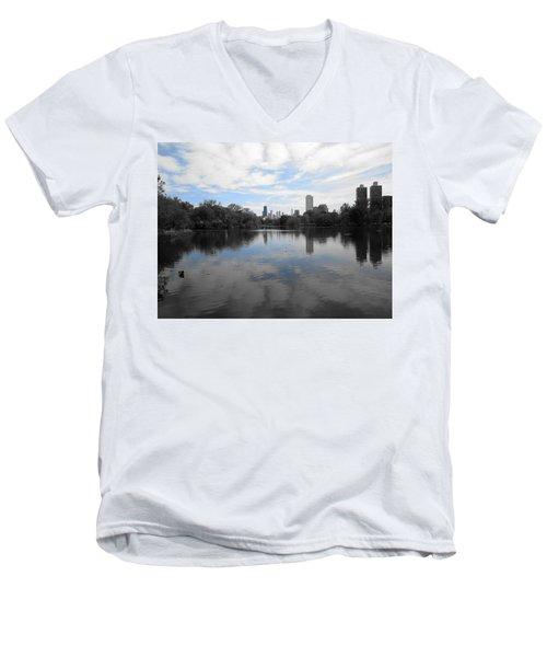 North Pond Men's V-Neck T-Shirt