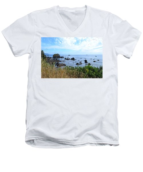 Northern California Coast2 Men's V-Neck T-Shirt