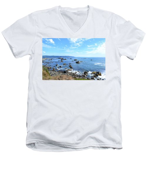 Northern California Coast3 Men's V-Neck T-Shirt