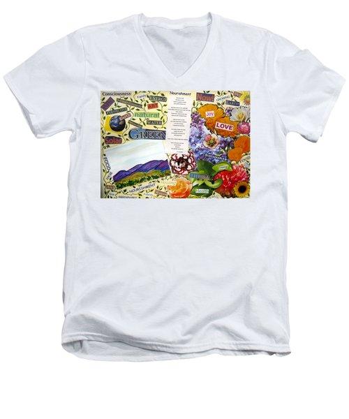Nourishment Men's V-Neck T-Shirt
