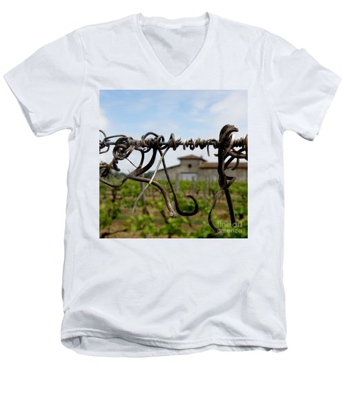 Old And New  Men's V-Neck T-Shirt by Lainie Wrightson