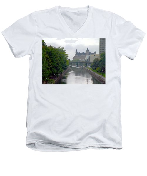 Ottawa Rideau Canal Men's V-Neck T-Shirt