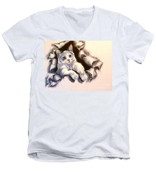 Paper Tiger Men's V-Neck T-Shirt
