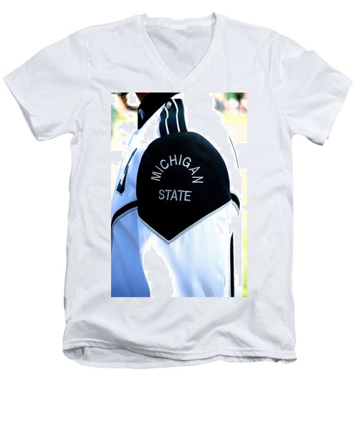 Patch Men's V-Neck T-Shirt