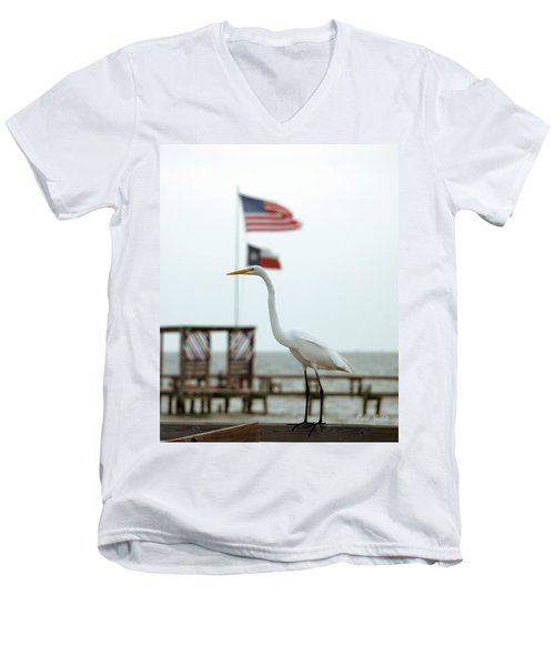 Patriotic Men's V-Neck T-Shirt
