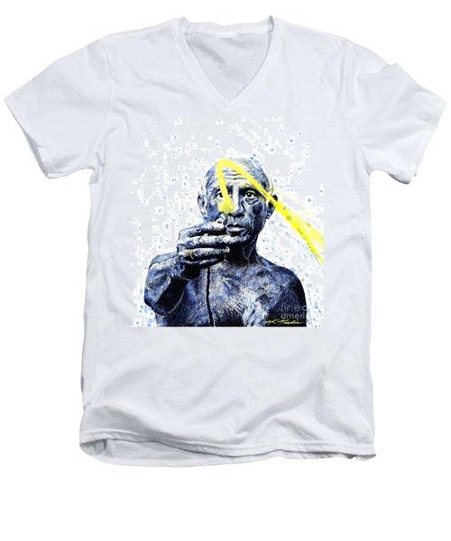 Picasso Men's V-Neck T-Shirt