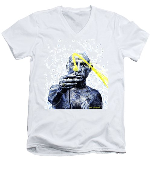 Picasso Men's V-Neck T-Shirt