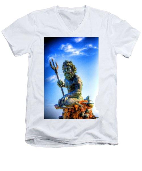 Poseidon Men's V-Neck T-Shirt